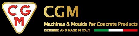CGM Srl — Производитель виброформовочного самоходного оборудования для производства железобетонных изделий | Самоходное виброформующее оборудование Логотип